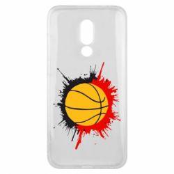 Чехол для Meizu 16x Баскетбольный мяч - FatLine
