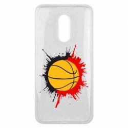 Чехол для Meizu 16 plus Баскетбольный мяч - FatLine