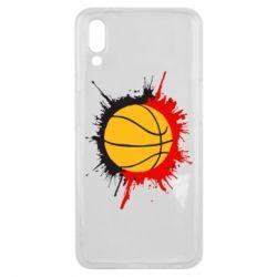 Чехол для Meizu E3 Баскетбольный мяч - FatLine