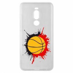 Чехол для Meizu Note 8 Баскетбольный мяч - FatLine