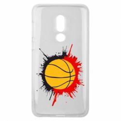 Чехол для Meizu V8 Баскетбольный мяч - FatLine