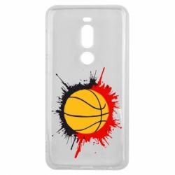 Чехол для Meizu V8 Pro Баскетбольный мяч - FatLine