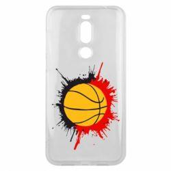 Чехол для Meizu X8 Баскетбольный мяч - FatLine