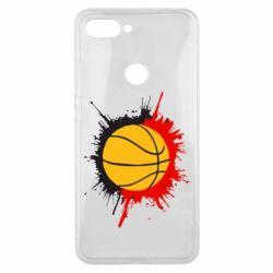 Чехол для Xiaomi Mi8 Lite Баскетбольный мяч - FatLine