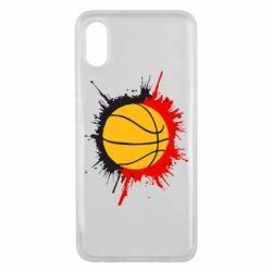 Чехол для Xiaomi Mi8 Pro Баскетбольный мяч - FatLine