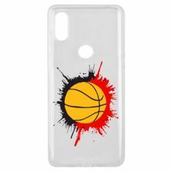 Чехол для Xiaomi Mi Mix 3 Баскетбольный мяч - FatLine