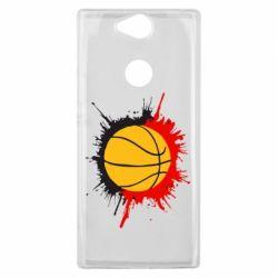 Чехол для Sony Xperia XA2 Plus Баскетбольный мяч - FatLine