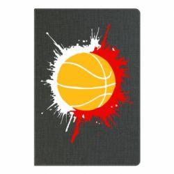 Блокнот А5 Баскетбольный мяч - FatLine