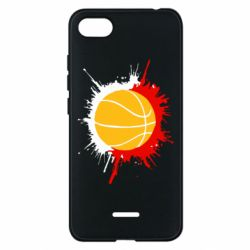 Чехол для Xiaomi Redmi 6A Баскетбольный мяч - FatLine