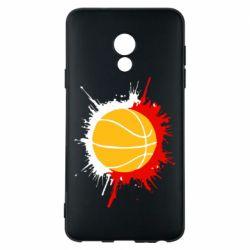 Чехол для Meizu 15 Lite Баскетбольный мяч - FatLine