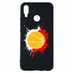 Чехол для Huawei P Smart Plus Баскетбольный мяч - FatLine