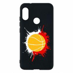 Чехол для Mi A2 Lite Баскетбольный мяч - FatLine