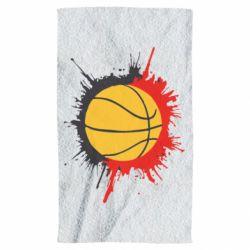 Полотенце Баскетбольный мяч - FatLine