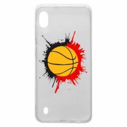 Чехол для Samsung A10 Баскетбольный мяч