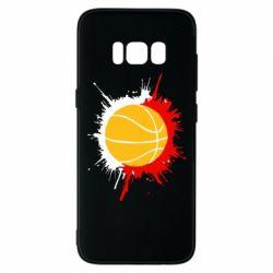 Чехол для Samsung S8 Баскетбольный мяч - FatLine