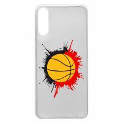 Чехол для Samsung A70 Баскетбольный мяч