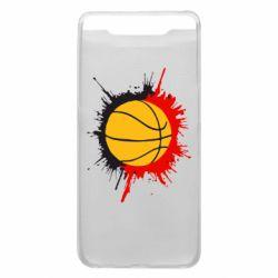 Чехол для Samsung A80 Баскетбольный мяч