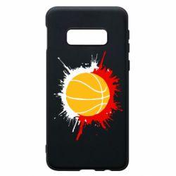 Чехол для Samsung S10e Баскетбольный мяч