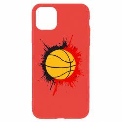 Чехол для iPhone 11 Баскетбольный мяч