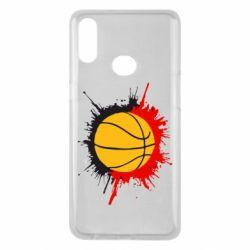 Чехол для Samsung A10s Баскетбольный мяч