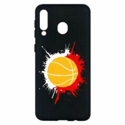 Чехол для Samsung M30 Баскетбольный мяч