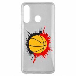 Чехол для Samsung M40 Баскетбольный мяч