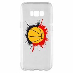 Чехол для Samsung S8+ Баскетбольный мяч - FatLine