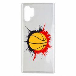 Чехол для Samsung Note 10 Plus Баскетбольный мяч