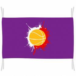 Флаг Баскетбольный мяч