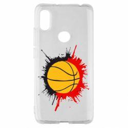 Чехол для Xiaomi Redmi S2 Баскетбольный мяч