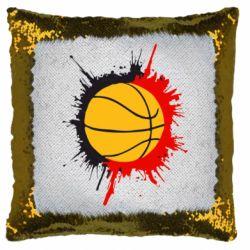 Подушка-хамелеон Баскетбольний м'яч