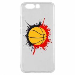 Чехол для Huawei P10 Баскетбольный мяч - FatLine