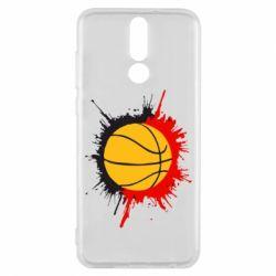 Чехол для Huawei Mate 10 Lite Баскетбольный мяч - FatLine
