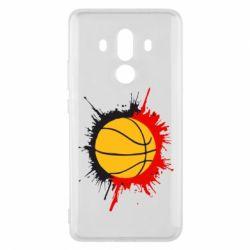Чехол для Huawei Mate 10 Pro Баскетбольный мяч - FatLine
