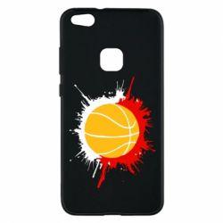 Чехол для Huawei P10 Lite Баскетбольный мяч - FatLine