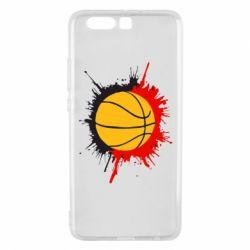 Чехол для Huawei P10 Plus Баскетбольный мяч - FatLine