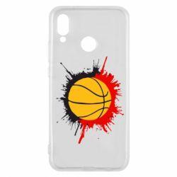 Чехол для Huawei P20 Lite Баскетбольный мяч - FatLine