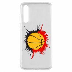 Чехол для Huawei P20 Pro Баскетбольный мяч - FatLine