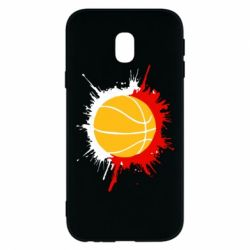 Чехол для Samsung J3 2017 Баскетбольный мяч - FatLine