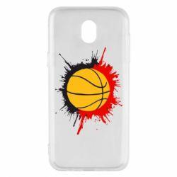 Чехол для Samsung J5 2017 Баскетбольный мяч - FatLine