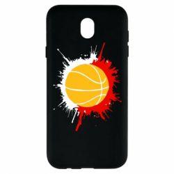 Чехол для Samsung J7 2017 Баскетбольный мяч