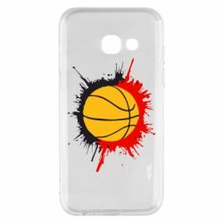Чехол для Samsung A3 2017 Баскетбольный мяч