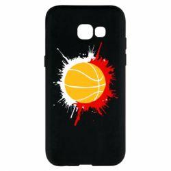 Чехол для Samsung A5 2017 Баскетбольный мяч - FatLine