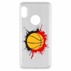 Чехол для Xiaomi Redmi Note 5 Баскетбольный мяч - FatLine