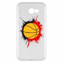Чехол для Samsung A7 2017 Баскетбольный мяч - FatLine