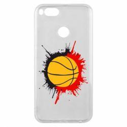 Чехол для Xiaomi Mi A1 Баскетбольный мяч - FatLine