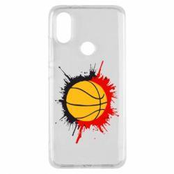 Чехол для Xiaomi Mi A2 Баскетбольный мяч - FatLine