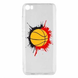 Чехол для Xiaomi Xiaomi Mi5/Mi5 Pro Баскетбольный мяч - FatLine
