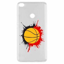 Чехол для Xiaomi Mi Max 2 Баскетбольный мяч - FatLine