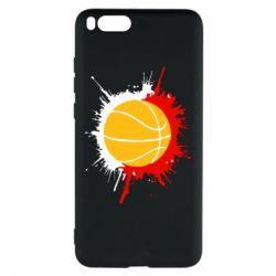 Чехол для Xiaomi Mi Note 3 Баскетбольный мяч - FatLine
